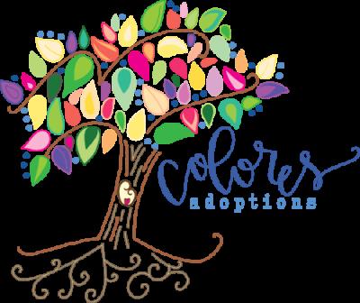 colores adoptions logo